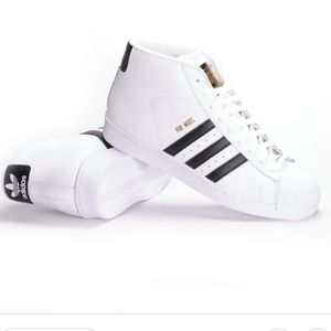 ADIDAS PRO MODEL WHITE MALE SNEAKERS